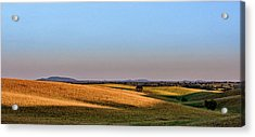 Acrylic Print featuring the photograph Alentejo Fields by Marion McCristall