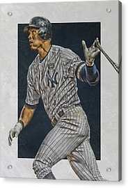 Alex Rodriguez New York Yankees Art Acrylic Print by Joe Hamilton