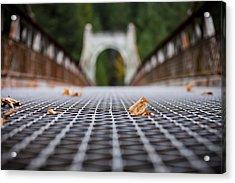 Alexandra Bridge Acrylic Print