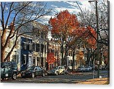 Alexandria Street Acrylic Print by Larry Darnell