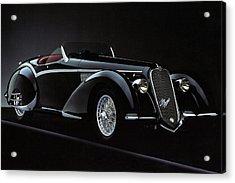 Alfa Romeo 8c 2900 Mercedes Benz Acrylic Print
