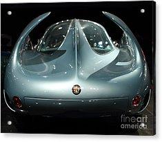 Alfa Romeo Bat 7 Wing View Acrylic Print by Wingsdomain Art and Photography