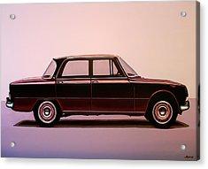 Alfa Romeo Giulia Super 1967 Painting Acrylic Print