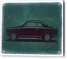 Alfa Romeo Gtv Acrylic Print by Naxart Studio