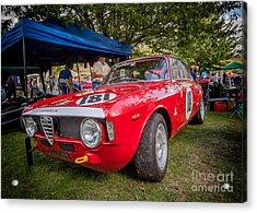 Alfa Romeo Sprint Gt Acrylic Print