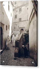 Algiers Casbah Acrylic Print by Erik Falkensteen