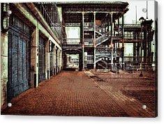Algiers Ferry Dock Acrylic Print