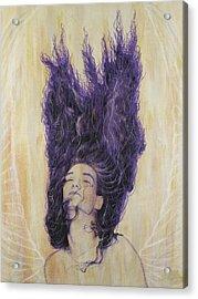 Algiz Acrylic Print by Arnuda