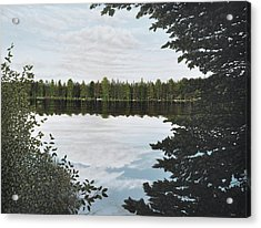 Algonquin Park Acrylic Print by Kenneth M  Kirsch