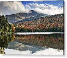 Algonquin Peak From Heart Lake - Adirondack Park - New York Acrylic Print by Brendan Reals