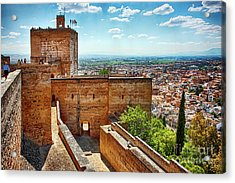 Alhambra Tower Acrylic Print
