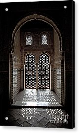 Alhambra Window Acrylic Print by Jane Rix