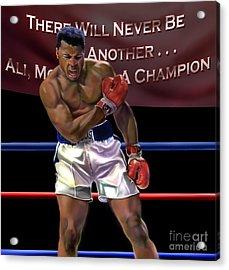 Ali - More Than A Champion Acrylic Print by Reggie Duffie