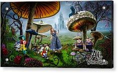 Ali In Wonderland Acrylic Print