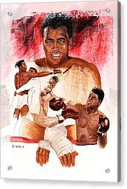 Ali Acrylic Print by Joe Winkler