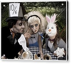 Alice And Friends 2 Acrylic Print by Kelly Jade King