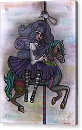 Alice And Merry-go-round Acrylic Print