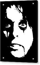 Alice Cooper Pop Art Acrylic Print