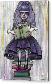 Alice In Another World 2 Acrylic Print