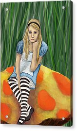 Alice In Wonderland Acrylic Print by Aimee Helsper