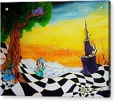 Alice In Wonderland Acrylic Print by Ben Christianson