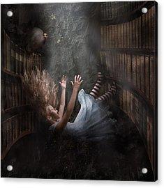 Alice Acrylic Print by Karen Alsop