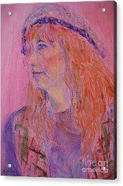 Alice Acrylic Print by Marlene Robbins