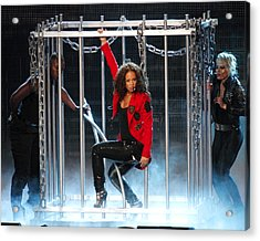 Alicia Keys Uncaged Acrylic Print by Steven Sachs
