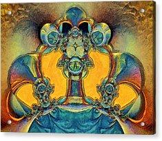 Alien Acrylic Print by Alexandru Bucovineanu
