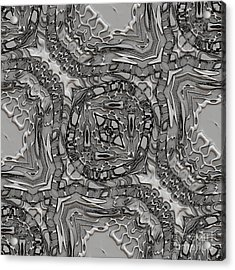 Alien Building Materials Acrylic Print