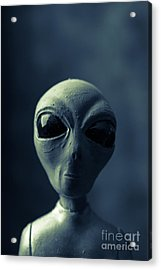 Alien Encounter Acrylic Print by Edward Fielding