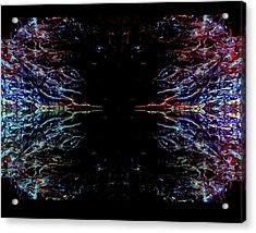Alien Face Off Acrylic Print