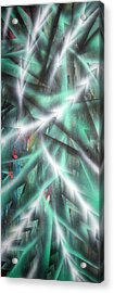 Alien Forest Acrylic Print by Leigh Odom