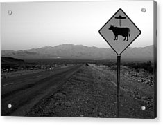 Alien Highway Acrylic Print
