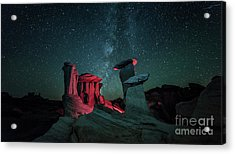 Acrylic Print featuring the photograph Alien Landscape by Brian Spencer