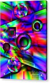 Alien Pinball Acrylic Print