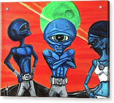 Alien Posse Acrylic Print