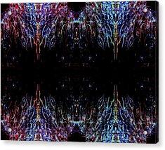 Alien Acrylic Print by Samantha Thome