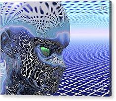 Alien Stare Acrylic Print by Nicholas Burningham
