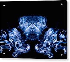 Alien Acrylic Print by Val Black Russian Tourchin