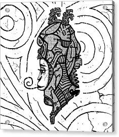 Alien Woman Acrylic Print