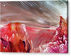 Alien World Acrylic Print by Angelina Whittaker Cook