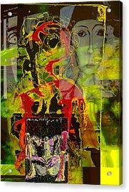 Alienation Acrylic Print by Noredin Morgan