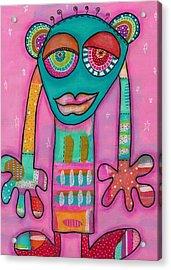 Aliens United-la Primatule Acrylic Print