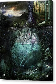 Alive Inside Acrylic Print by Cameron Gray