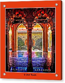 Acrylic Print featuring the photograph Aljaferia Coloratura by Jack Torcello