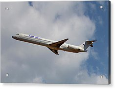 Alk Airlines Mcdonnell Douglas Md-82 Acrylic Print