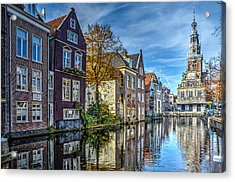 Alkmaar From The Bridge Acrylic Print