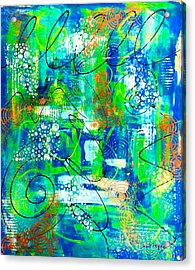 All A Whirl Acrylic Print