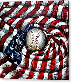 All American Acrylic Print by Shana Rowe Jackson
